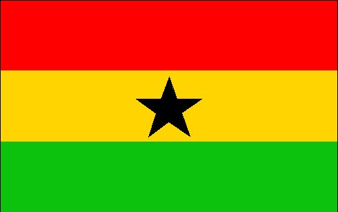 The World Famous Ghana Flag!